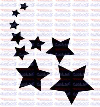 Autocolante - Estrelas