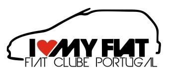 Autocolante - Fiat Clube Portugal