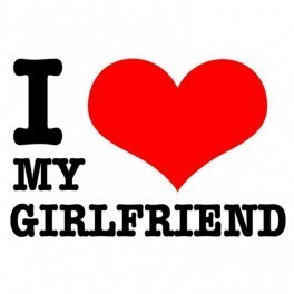 Autocolante - I Love My Girlfriend