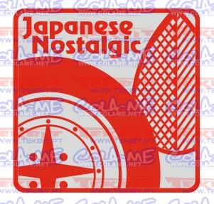 Autocolante Impresso - Japanese Nostalgic.