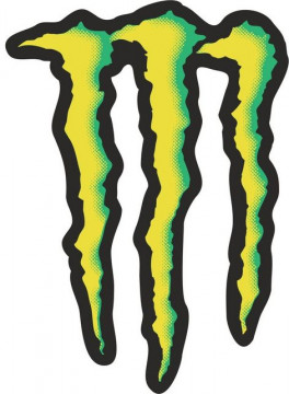 Autocolante Impresso - Monster