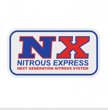 Autocolante Impresso - Nitrous express
