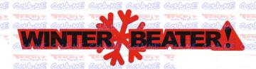 Autocolante Impresso - Winter beater.