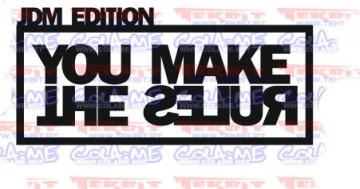 Autocolante - JDM edition you make