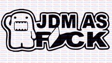 Autocolante - JDM Fuck