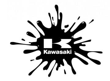 Autocolante - Kawasaki Splash