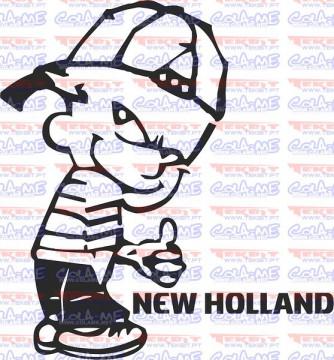 Autocolante - Mijão New Holland