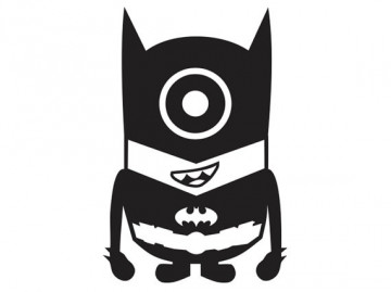 Autocolante - Minion Batman