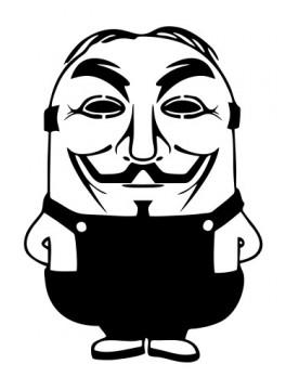 Autocolante - Minions Anonymous