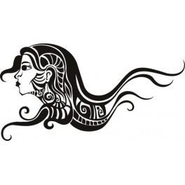 Autocolante - Mulher Abstrata