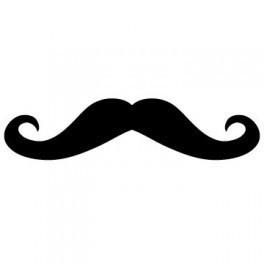 Autocolante - Mustache