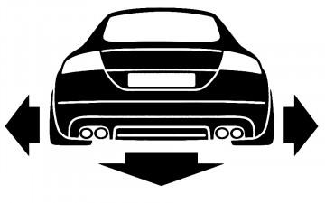Autocolante para  Audi TT