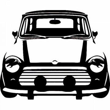 Autocolante para Austin Mini