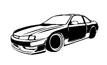 Autocolante para Nissan Silvia S14