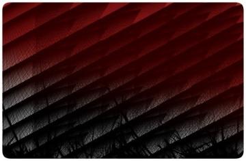 Autocolante para Portátil - Abstrato Preto e Vermelho