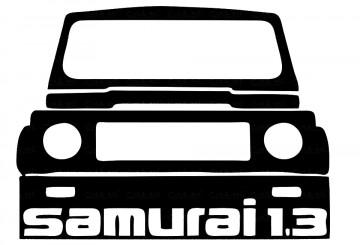 Autocolante para Samurai 1.3