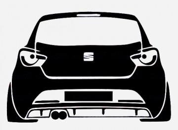 Autocolante para Seat Ibiza SC