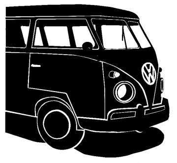 Autocolante para VW Pão de Forma