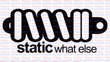 Autocolante - Static What Else
