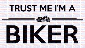 Autocolante - Trust me i´m a Bike