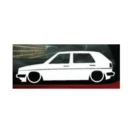 Autocolante - Volkswagen Golf II
