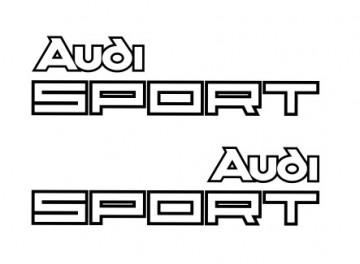 Autocolantes - Audi Sport