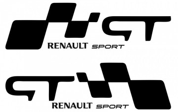 Autocolantes - Renault Sport GT