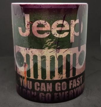 Caneca com Jeep
