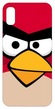 Capa de telemóvel com angry birds Vermelho