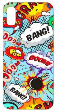 Capa de telemóvel com Bang Boom