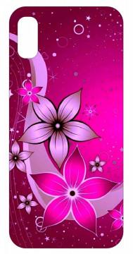 Capa de telemóvel com Flores