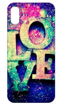 Capa de telemóvel com Love