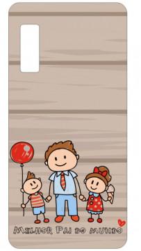 Capa de telemóvel com Melhor pai do mundo