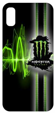 Capa de telemóvel com Monster Energy