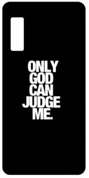 Capa de telemóvel com Only God Can Judge Me
