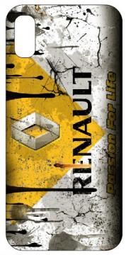 Capa de telemóvel com Renault - Retro