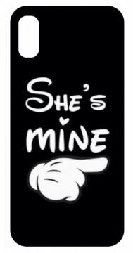 Capa de telemóvel com She's mine