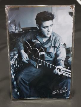 Chapa decorativa com Elvis Presley