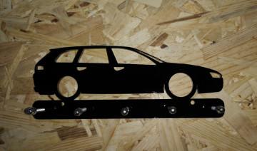 Chaveiro em Acrílico com Alfa Romeo 159