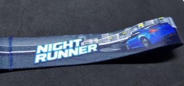 Fita Porta Chaves com Night Runner