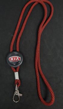 Fita Porta Chaves (lanyard) de Pescoço Ajustável para Kia