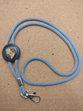 Fita Porta Chaves (lanyard) de Pescoço Ajustável para Porsche