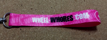 Fita Porta Chaves para Wheel-Whores.com