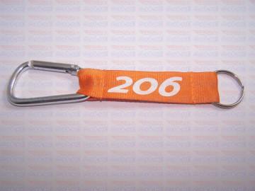 Fita Porta Chaves - Peugeot 206