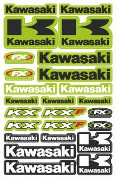 Folha / Pack de Autocolantes - Kawasaki