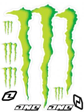 Folha / Pack de Autocolantes - Monster 02