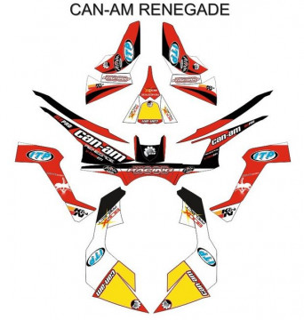 Kit Autocolantes Para CAN AM - Renegade