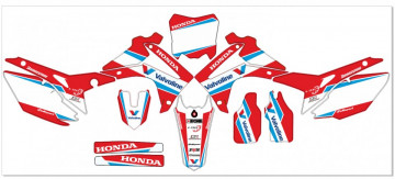 Kit Autocolantes Para Moto - HONDA CRF (250 14-15),  (450 13-15)  Valvoline