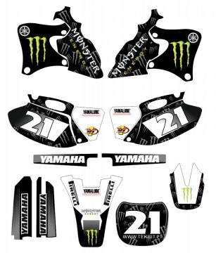 Kit Autocolantes Para Yamaha YZF 250 400 426 - 1998 a 2002