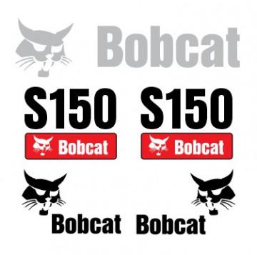 Kit de Autocolantes para BobCat S150